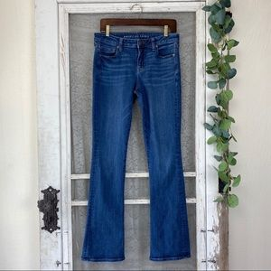 American Eagle Stretch Skinny Kick Jeans 10 Long